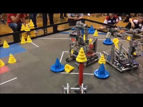VEX In The Zone - NW Maryland VRC Competition Finals Match - 929U, 929X, 9290J vs 929H, 5588E, 5839B