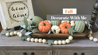 DECORATE FOR FALL WITH ME 2019 | FALL DECOR IDEAS | Decorate With Dana