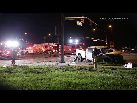 Perris: Racing Suspected in Major Crash, Three Hospitalized