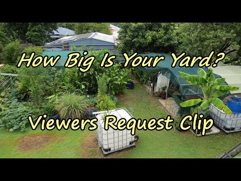 """""""How big is your yard?"""" Viewer Request Backyard Farm Walk Through. Permaculture Design included 😉"""