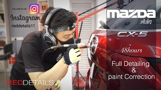 Mazda CX-5 Soul Red Crystal Paint Correction & full Detailing