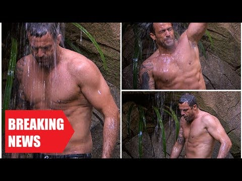 Breaking News-I'm a celebrity jamie lomas out his body split in the Lotus forest