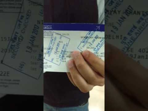 Experience Of Indigo Flight From Pune To Delhi Youtube