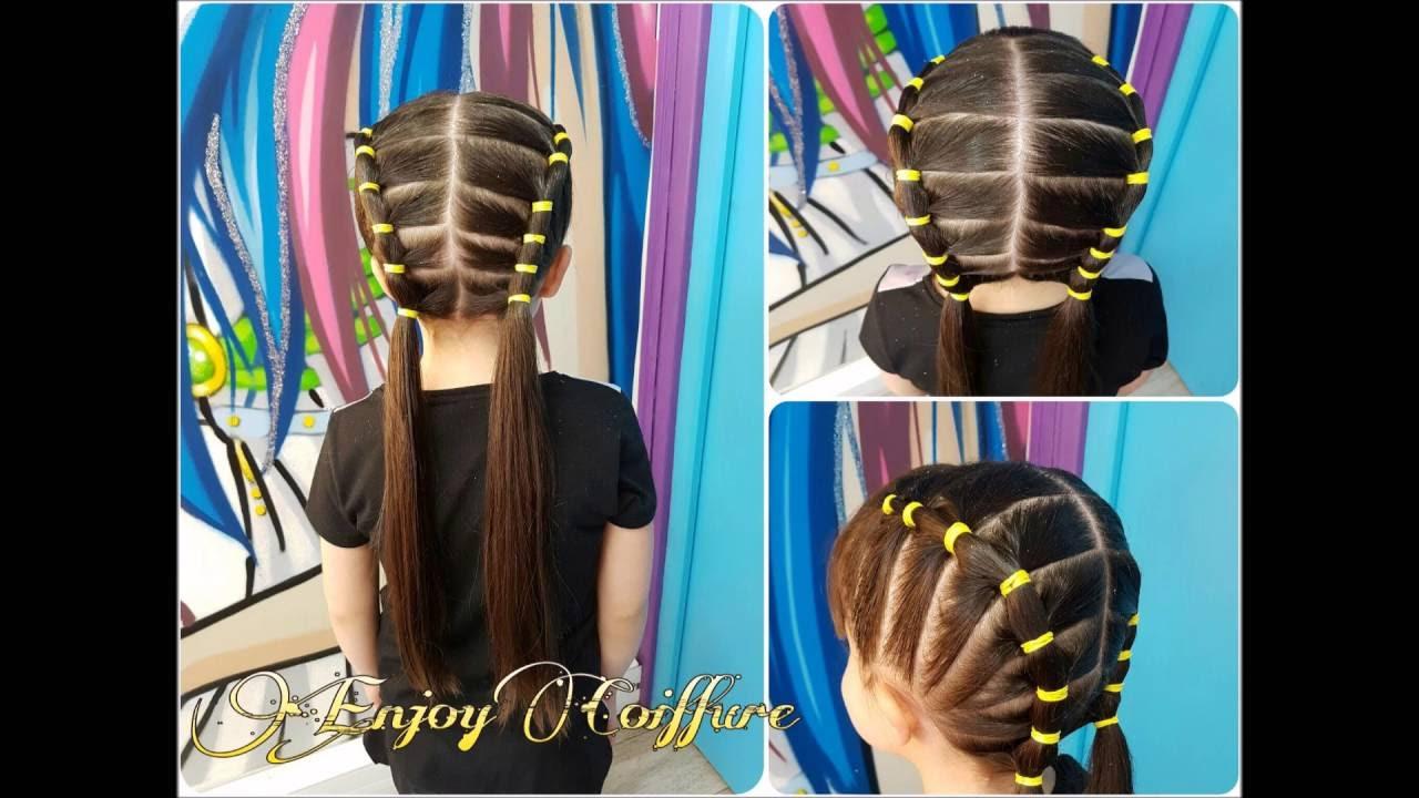 coiffure avec petit elastique