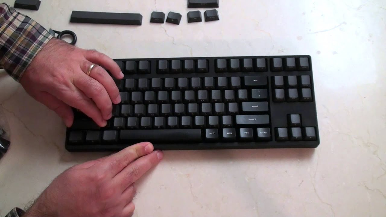 How to Change Key caps - step-by-step Mechanical Keyboard from ABS to PBT