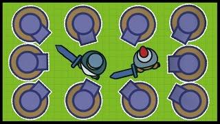 MooMoo.io - EPIC TURRET BASE DEFENSE, Plague Mask, EMP Mask & More!
