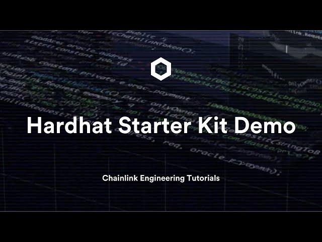 Hardhat Starter Kit Demo | Chainlink Engineering Tutorial