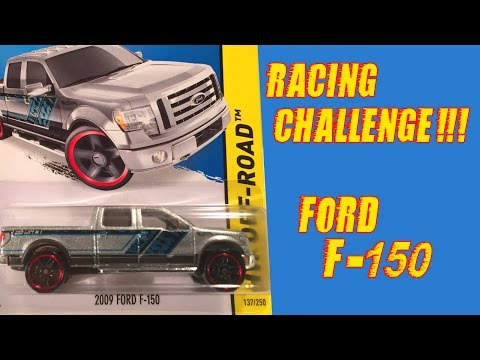 Hot Wheels Ford F150 - Racing Challenge!!!