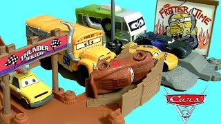 Cars 3 Thunder Hollow Challenge Playset Story Sets Collection Disney Pixar Cars 3 Car toys for kids