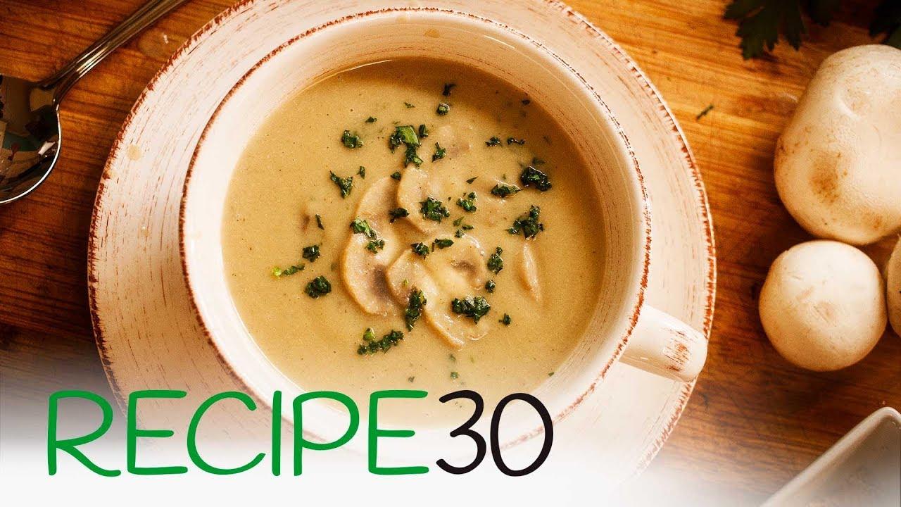 No Cream, Cream of Mushroom Soup Recipe - YouTube
