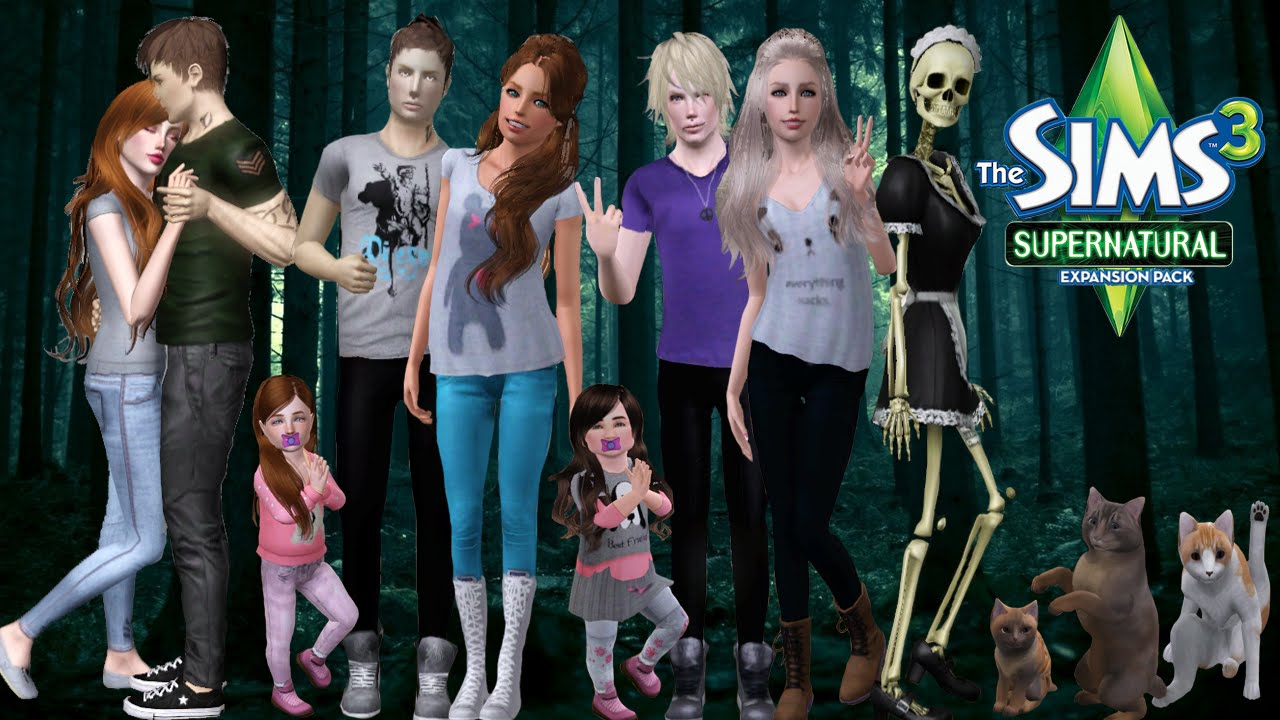 How to mod sims 3 supernatural serial