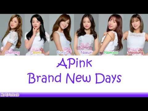 Apink (에이핑크): Brand New Days Lyrics