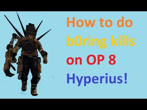 How I take care of OP 8 Hyperius