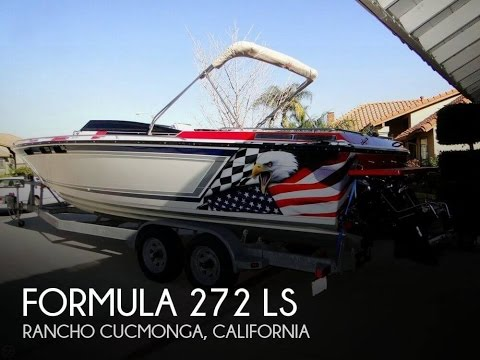 [UNAVAILABLE] Used 1985 Formula 272 LS in Rancho Cucmonga, California