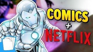 "Would comics benefit from the ""Netflix model?"" | Auram's Corner"