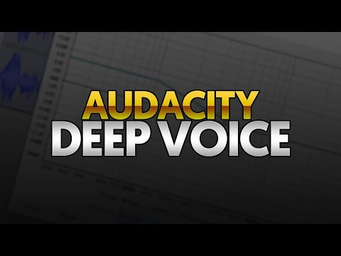 How To: Make Your Voice Deep in Audacity