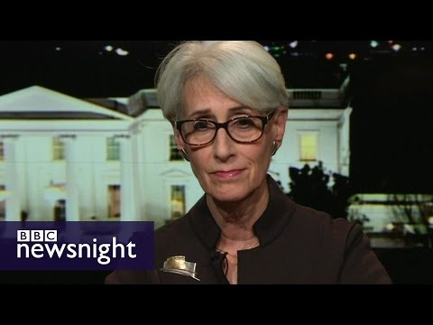 Wendy Sherman on Trump, the alt-right and healing America - BBC Newsnight