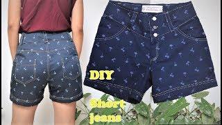 Veja Como Fazer Short Jeans Dupla Costura – Com Linha Comum