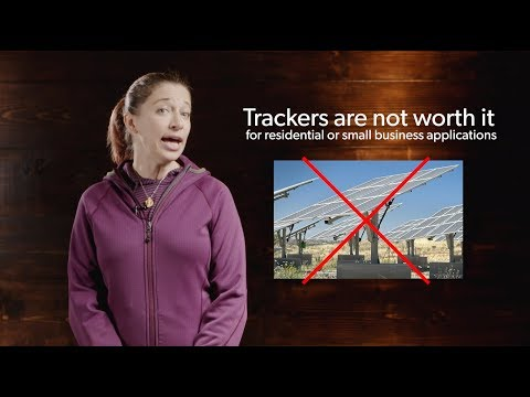 Why You Shouldn't Buy a Solar Panel Tracker
