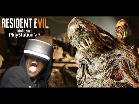 THIS GAME IS NOT GOOD FOR YOUR HEART   RESIDENT EVIL 7 Not A Hero (PSVR RE7 DLC)