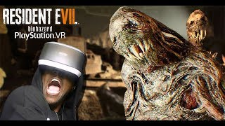 THIS GAME IS NOT GOOD FOR YOUR HEART | RESIDENT EVIL 7 Not A Hero (PSVR RE7 DLC)