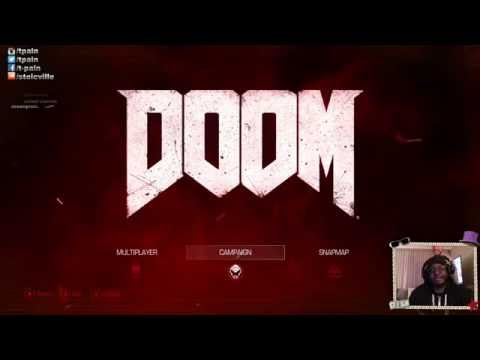 1st EVER T-PAIN TWITCH LIVE STREAM - DOOM
