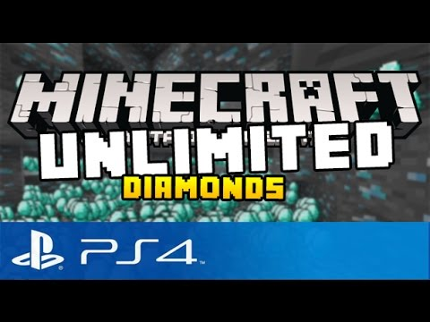 Minecraft Ps4 Unlimited Infinite Diamonds Glitch Minecraft Playstation 4 Glitch Tutorial Youtube