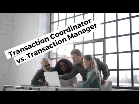 Job Description For Real Estate Transaction Coordinator vs. Transaction Manager