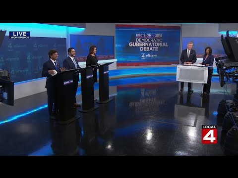 Democratic candidates for Michigan governor debate in Detroit