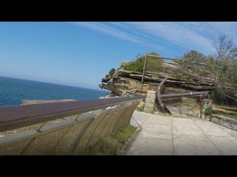 Sydney 2018 -  Dunbar Anchor at a Famous Ocean Lookout.