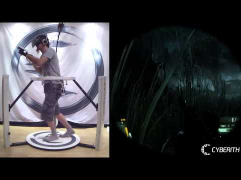 Crysis 3 in VR with the Cyberith Virtualizer   Oculus Rift   Peregrine Glove   Wii Mote