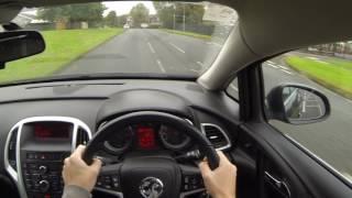 Vauxhall Opel Astra J POV Test Drive Manual Diesel