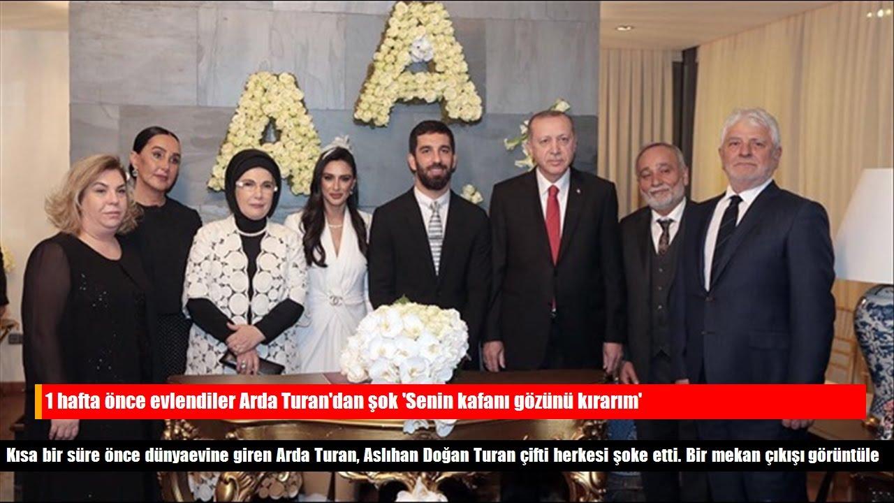 Arda Turan: Senin kafanı gözünü kırarım