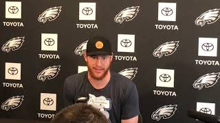 Eagles' Carson Wentz discusses contract talks