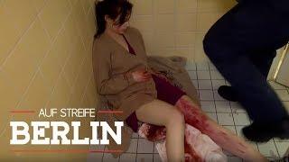 Blutiger Zwischenfall: Frau entbindet Kind auf Toilette | Auf Streife - Berlin | SAT.1 TV