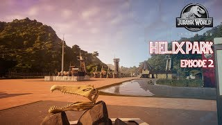 Jurassic World Evolution: Helix Park #2 Commercial Area