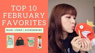 Top 10 February Favorites | MONTHLY FAVORITES