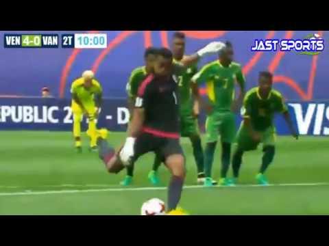 Venezuela vs Vanuatu 7 a 0 Mundial Sub 20