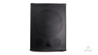 EUROLIVE B1500HP High-Performance Active 2200-Watt PA Subwoofer