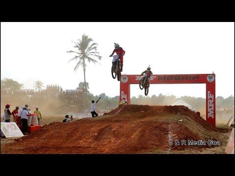 MRF Mo Grip FMSCI National Super Cross Championship 2017 Round 1 Held  in Navelim Goa India 2017 HD