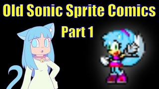 Old Sonic Sprite Comics - A Dramatic Reading and Review PART 1