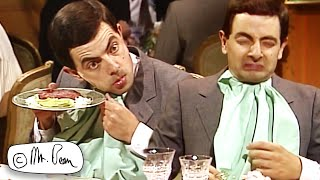 Enjoying the MEAL, Bean? | Mr Bean Funny Clips | Mr Bean Official