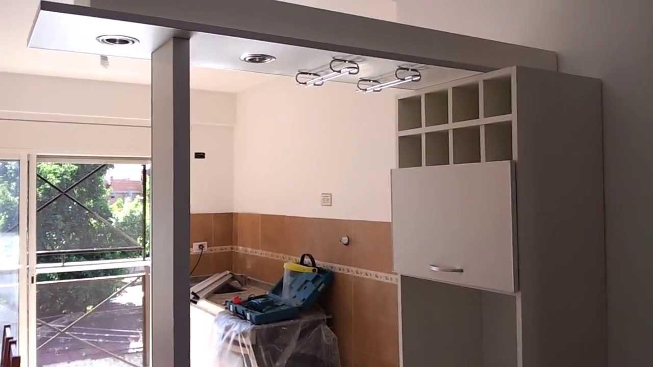Separador de ambientes desayunador fabrica en capital for Cocinas argentinas decoracion