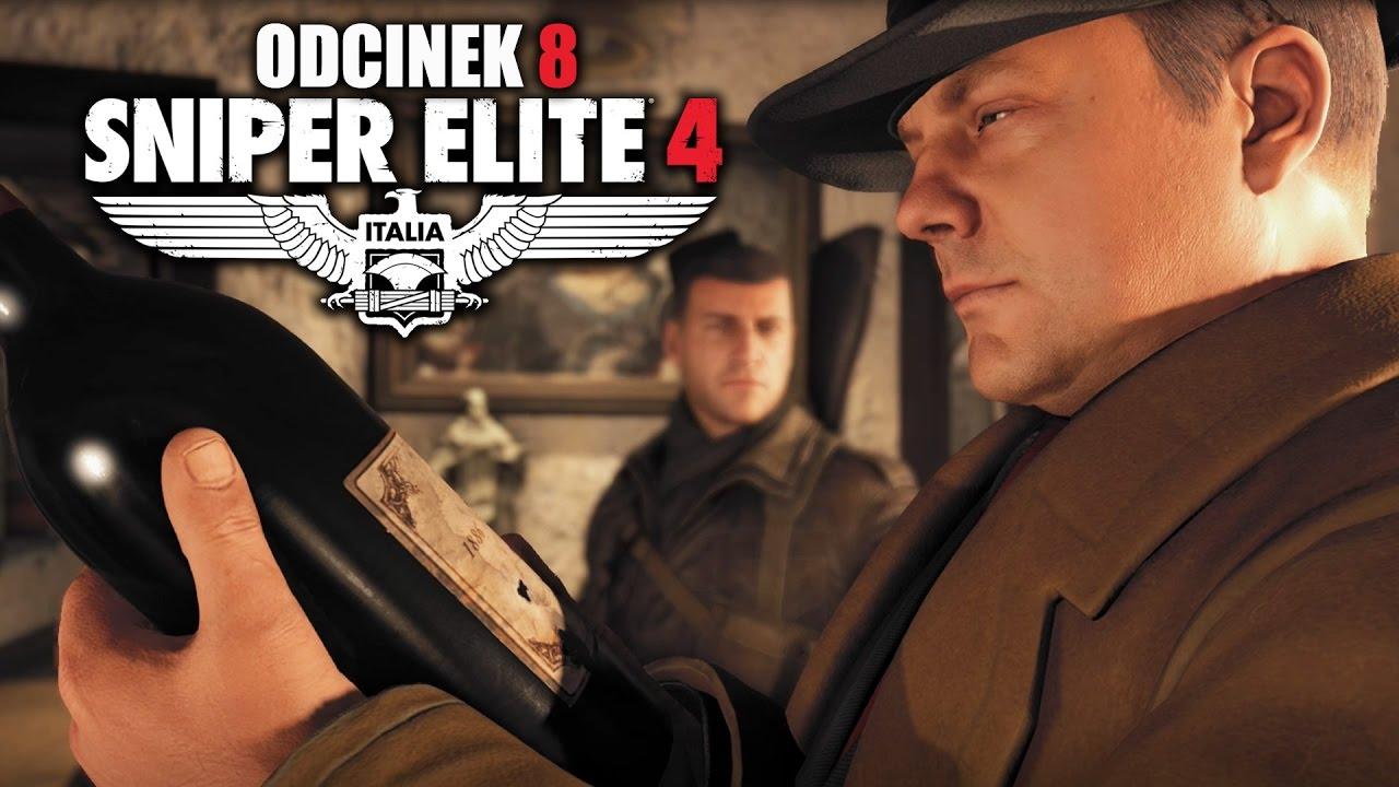 Sniper Elite 4: Italia PL #8 – Jajka żołnierza obok Klasztoru Abrunza – PC