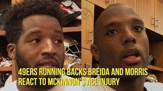 Does Morris trump Breida as 49ers top back after McKinnon injury?