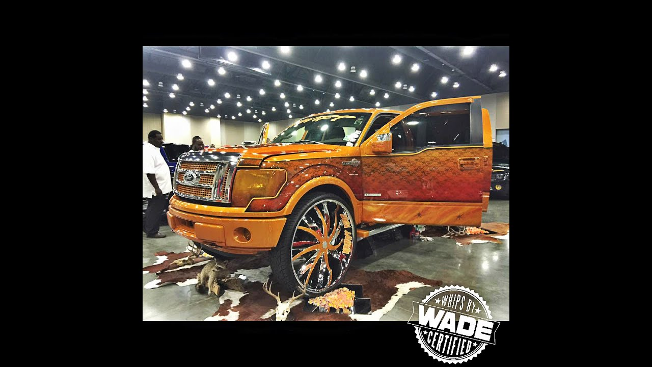Se car truck and bike show kandyman s f150 king ranch on 34 wheels youtube