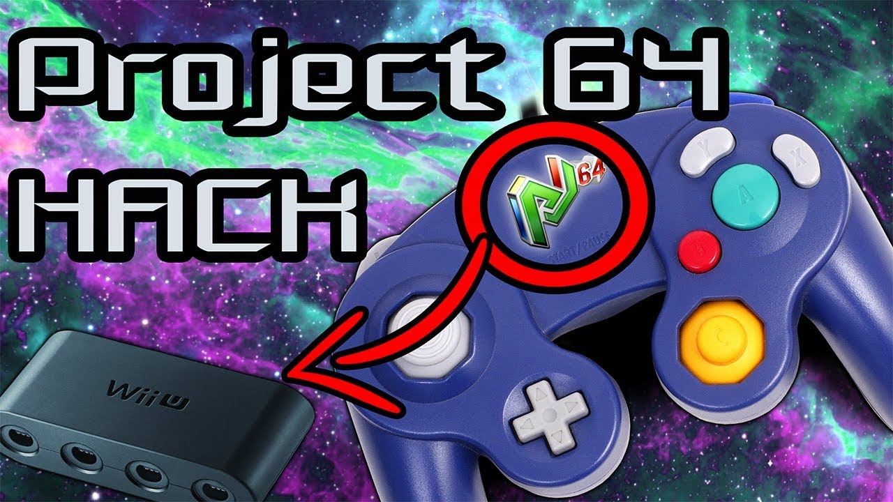 HOW TO USE A GAMECUBE CONTROLLER ON PROJECT 64!!!