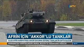 Afrin harekatında Akkor tankları kullanılacak !