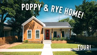 *updated* Poppy & Rye House Is A Dream! | Full Airbnb House Tour!