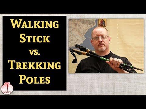 Walking Stick vs. Trekking Poles